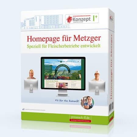 Homepage für Metzger