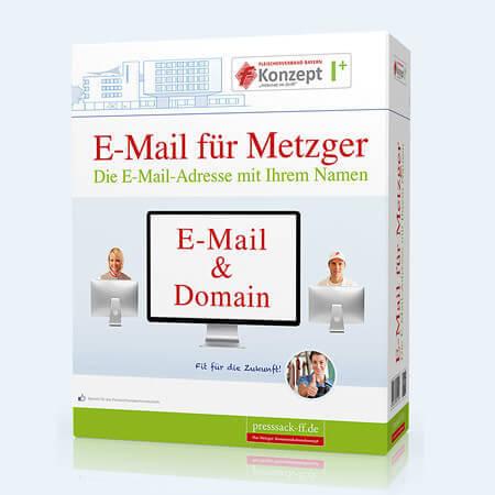 E-Mail & Domain für Metzger